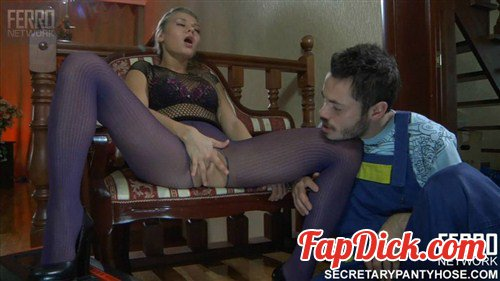 FERRONETWORK.com/SecretaryPantyhose.com - Emeralda and Geffrey - g592 [HD 720p]