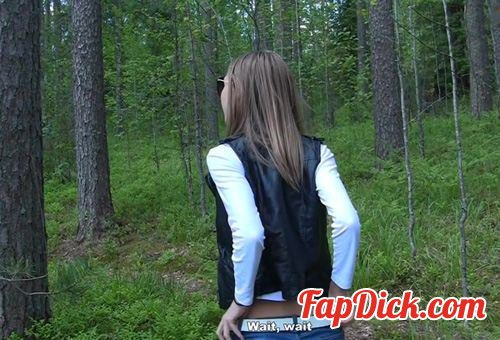 CashForSexTape.com/WTFPass.com - Ksyusha, Artyom - Season 1, episode 1: Hard girlfriend sex after a day in a park [HD 720p]
