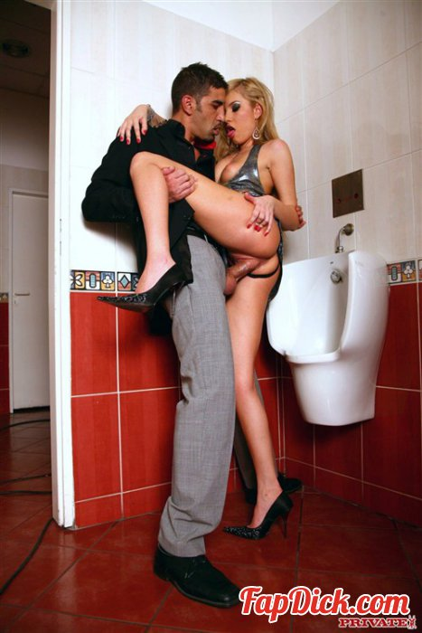 Private.com - Donna Bell - Dona Bell Cheating Her Husband Inside a Public Bathroom [HD 720p]