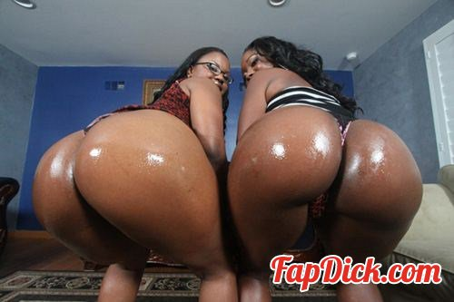 40ozBounce.com/PornPros.com - Ebony Star - Ebony and Laylani Wide Open [SiteRip]