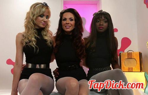FootWorship.com/Kink.com - Ana Foxxx, Kirsten Price and Angela Sommers - Kirsten And The Footsie Kats [HD 720p]