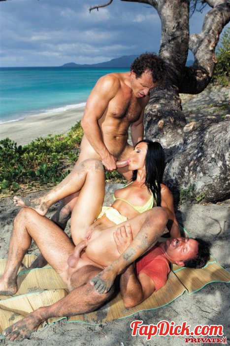 Private.com - Simonne Style - Awesome Tropical DP Scene With Simonne Style [FullHD 1080p]