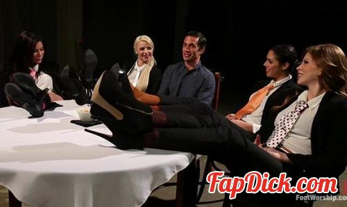 FootWorship.com/Kink.com - Alan Stafford, Brooklyn Lee, Aleksa Nicole, Anikka Albrite and Anna Morna - Reservoir Paws: 8 Feet and 40 Toes [HD 720p]