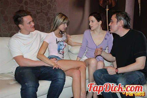 YoungSexParties.com - Masha, Lisa - Sharing girlfriends is fun [HD 720p]