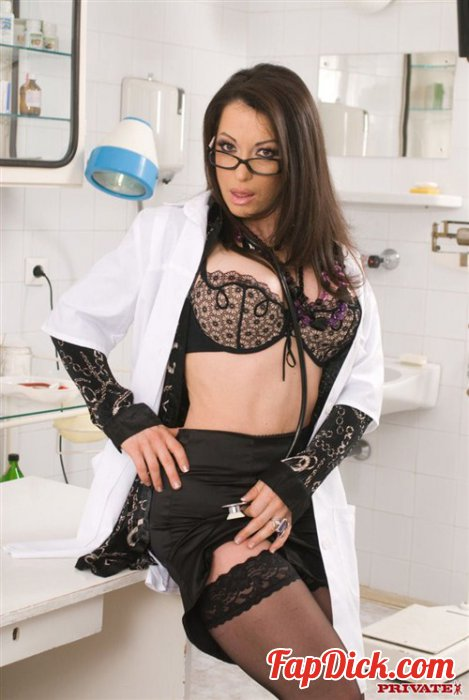 Private.com - Sheila Stone - Sexy doctor gets seduced! [HD 720p]