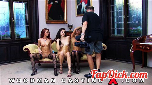 WoodmanCastingX.com - Aletta Ocean, Crystal Crown, Cayenne Klein - Sex Carnage 2 - Backstage [HD 720p]