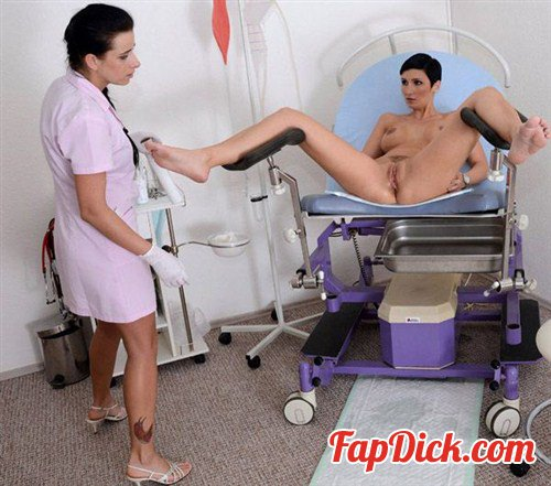 Gyno-X.com - Gabrielle - 28 years girl gyno exam [HD 720p]