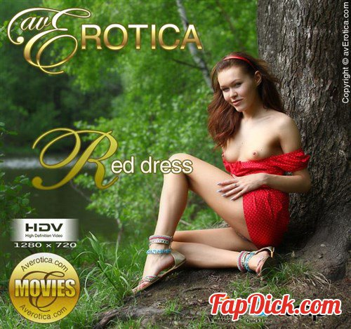 AvErotica.com - Brigitte - Red dress [HD 720p]