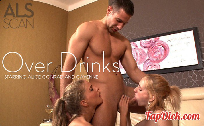 Alsscan.com - Alice Conrad & Cayenne - Over Drinks [HD 720p]