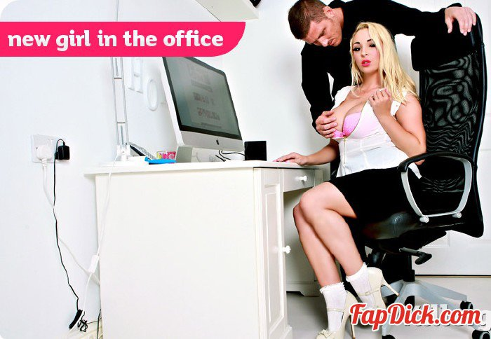 CumIntoMyOffice.com/KillerGram.com - Victoria Summers - New Girl In The Office [HD 720p]