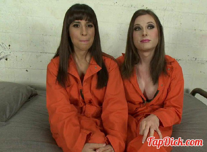 TSPussyHunters.com/Kink.com - Eva Cassini, Nina Lopez - Weekend Jail Time in an All Girl Cell and Her Bunk Mate has a Cock [HD 720p]