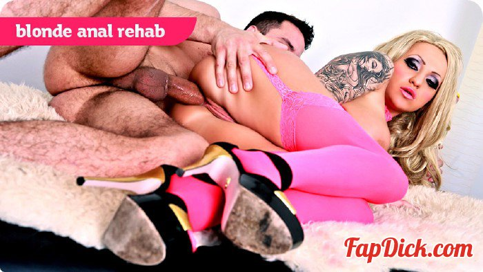 Analrehab.com/Killergram.com - Bambi Black - Blonde Anal Rehab [SD 1080p]