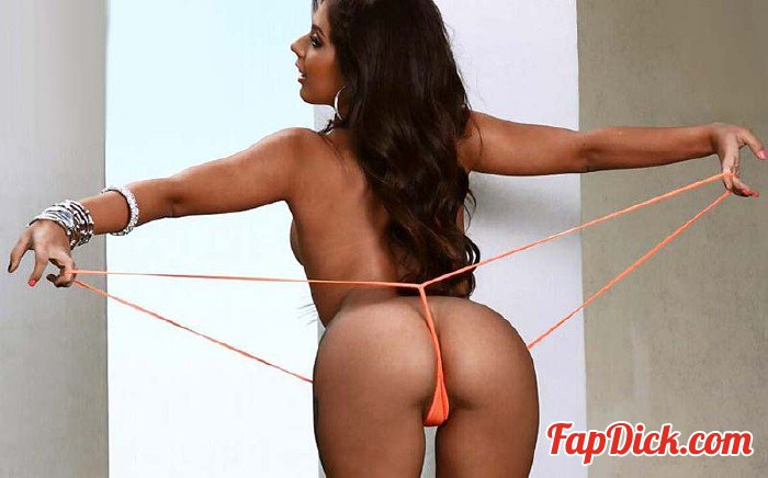 BikiniRiot.com - Jynx Maze - Orange Suspender Sling [HD 720p]