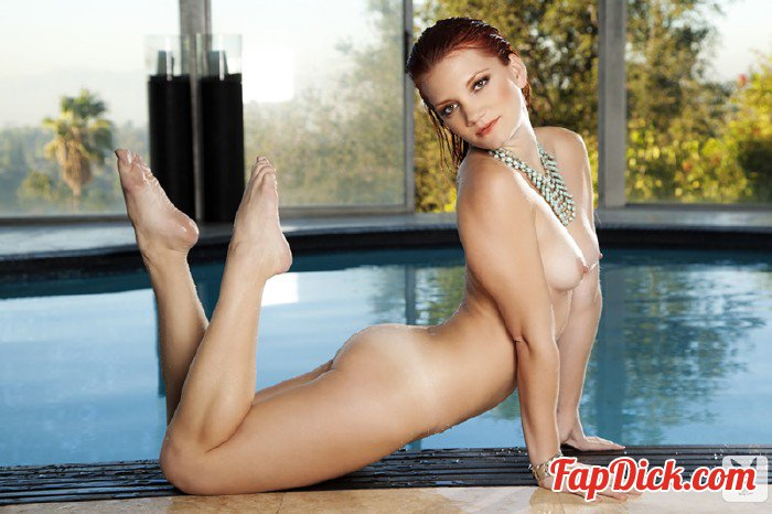 Plus.Playboy.com - Ariel Ryan - Poolside Pleasure with Ariel Ryan [HD 720p]