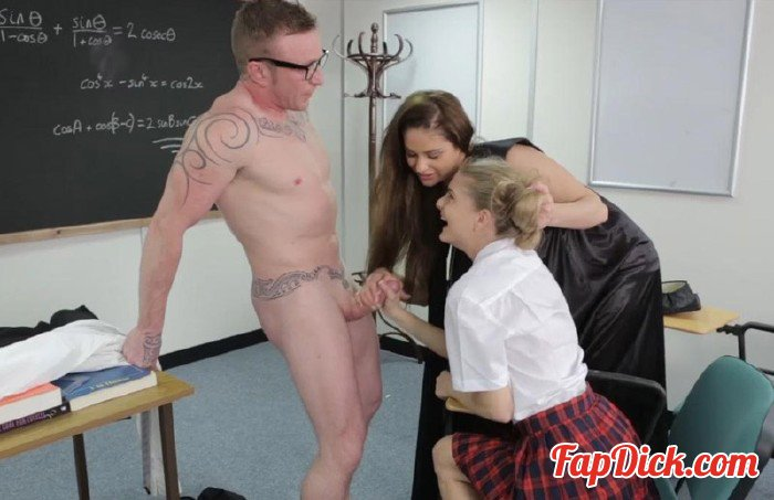 PureCFNM.com - Cathy Heaven and Cayenne Klein - Biology Lesson [HD 720p]