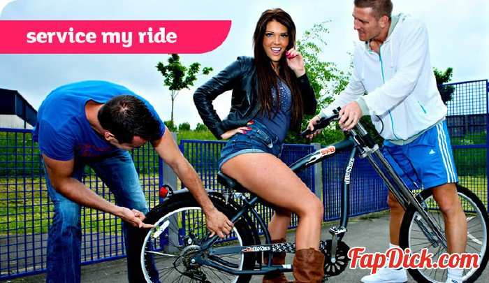 GirlyRiders.com/Killergram.com - Tessa Thrills - Service My Ride [SD 360p]