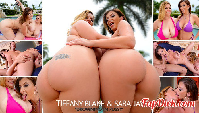 PlumperPass.com - Tiffany Blake, Sara Jay - Drowning In Pussy [HD 720p]