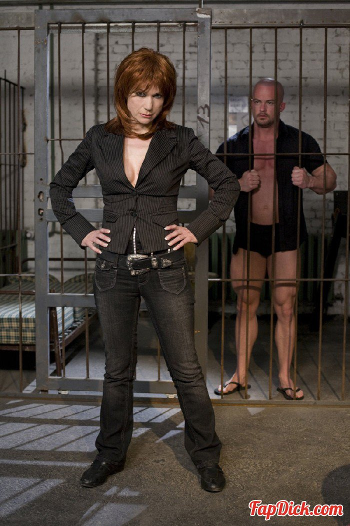 Private.com - Nina Stein - Mature Nina Stein Has Sex In Jail [HD 720p]