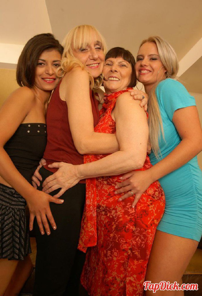 Old-and-Young-Lesbians.com/Mature.nl - Melisa (24), Nikka (23), Maira B. (55), Adela (61) - Lesbian - Alex 254 [HD 720p]